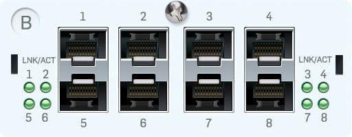 Sophos 8x GbE SFP Portmodul für SG/XG/UTM 5xx/6xx (Glasfaser)