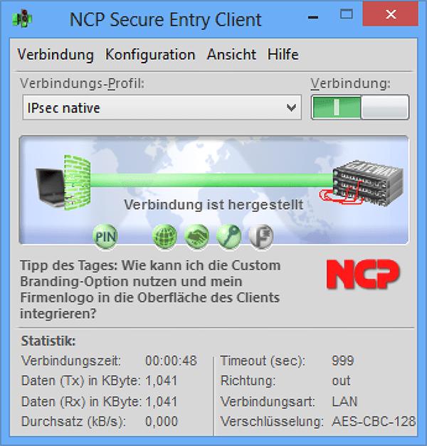 ncp vpn client keygen