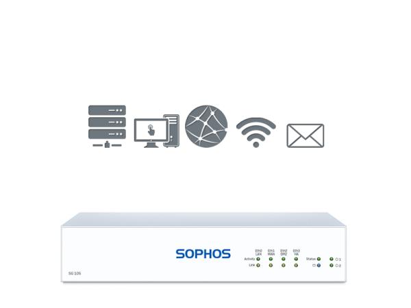 Sophos SG 105 TotalProtect (SG105)