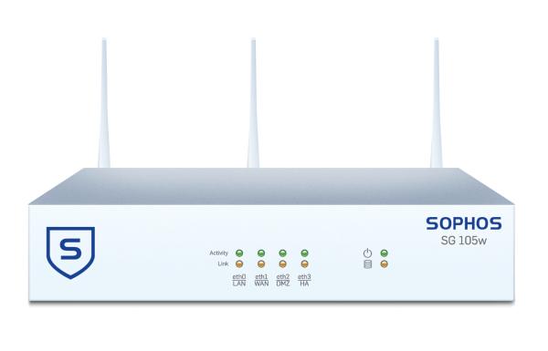 Sophos SG 105w Security Appliance WIFI (SG105w)