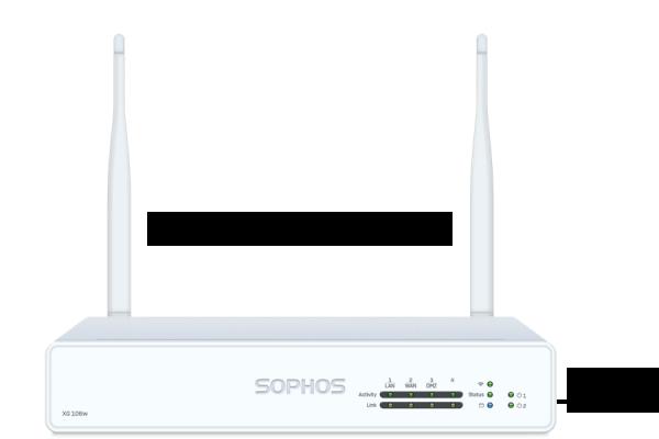 Sophos XG 106w Security Appliance WiFi Rev. 1 (XG106w)