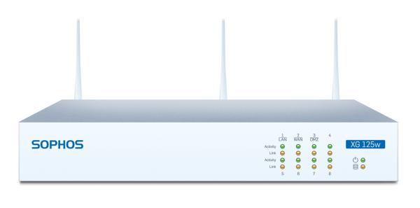 Sophos XG 125w Security Appliance WiFi (XG125w)