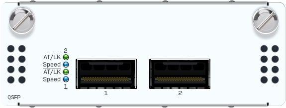 Sophos 2 Port 40GbE QSFP+ Flexi Port Modul (nur für XGS 5500/6500 Modelle)