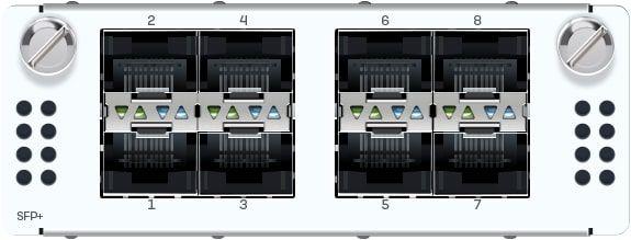Sophos 8 Port 10GbE SFP+ FleXi Port-Modul (nur für XGS 5500/6500 Modelle)