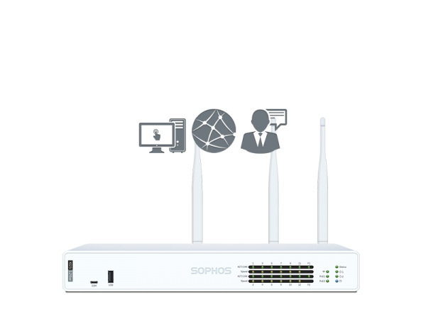 Sophos XGS 126w mit Standard Protection