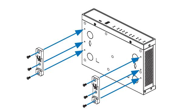 Sophos SD-RED 20   SD-RED 60 DIN Rail Mounting Kit (Schienenmontagesatz)