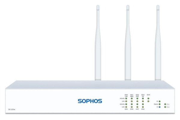 Sophos SG 125w Security Appliance WIFI (SG125w)