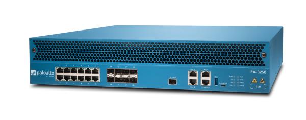 Palo Alto Networks PA-3250 Firewall System, 12x Gbit TX + 8x 1/10 Gbit SFP/SFP+