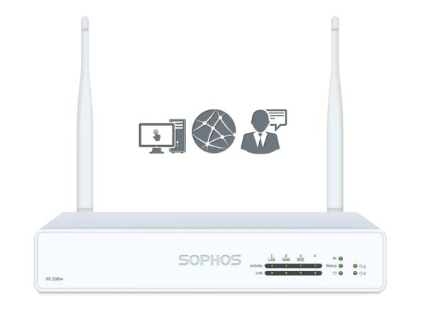 Sophos XG 106w EnterpriseProtect Rev. 1 (XG106w)