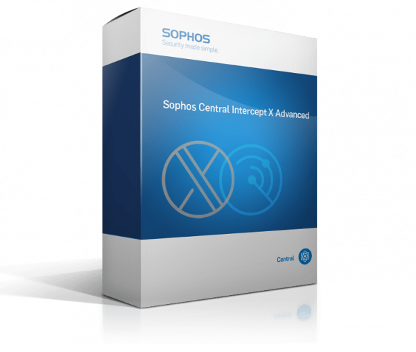 Sophos Central Intercept X Advanced (Endpoint Protection & Intercept X) - EDU