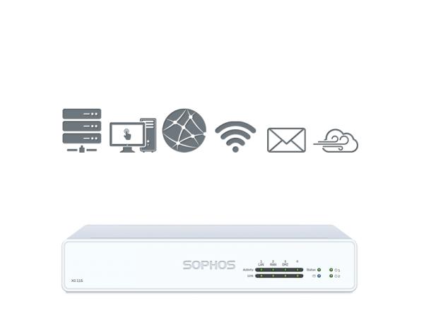 Sophos XG 115 TotalProtect Plus (XG115)