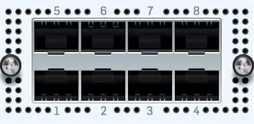 Sophos 8x 1 GbE SFP FleXi Portmodul für XG 7xx (Glasfaser)