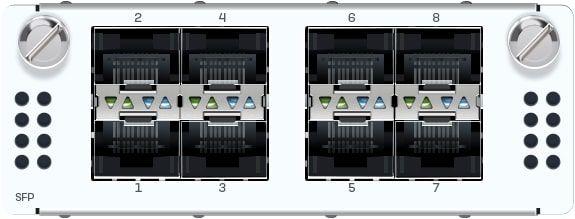 Sophos 8 Port GbE SFP FleXi Port-Modul (für alle XGS Rackmount-Modelle)