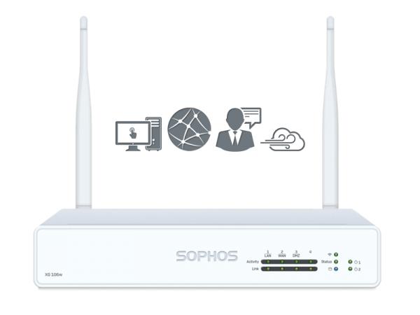 Sophos XG 106w EnterpriseProtect Plus Rev. 1 (XG106w)