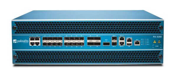 Palo Alto Networks PA-5280 Firewall System bis 68 Gbps, 64 Mio Sessions, 2x AC Netzteil