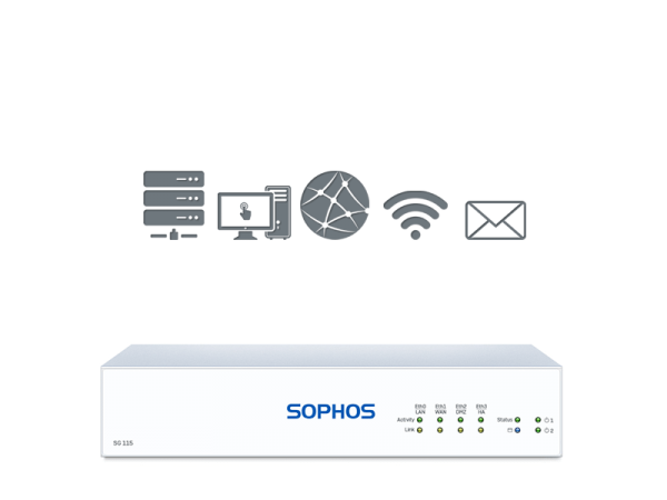 Sophos SG 115 - 1 Jahr BasicGuard (SG115 Subscription)