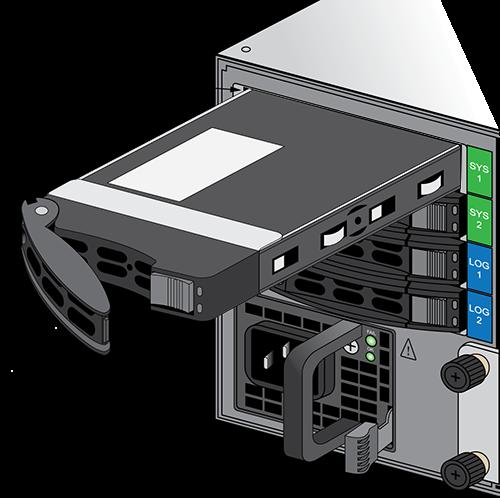 2,5-Zoll-Ersatz-SSD-Laufwerke mit 240 GB für die PA-5200-Serie