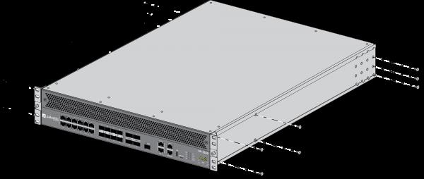 Palo Alto Networks PA-3220, PA-3250 und PA-3260 4-Säulen-Rackmontagesatz