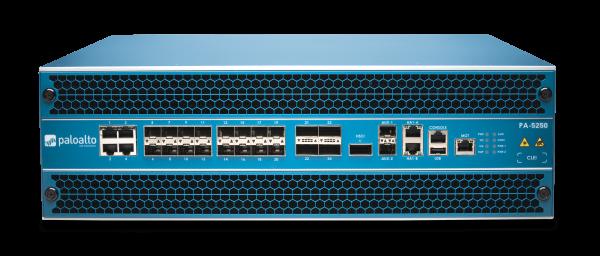 Palo Alto Networks PA-5250 Firewall System bis 39 Gbps mit 2x AC Netzteil
