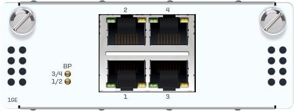 Sophos 2 Port GbE Glasfaser (LC) Bypass + 4 Port GbE SFP FleXi Port-Modul (für alle XGS Rackmount)