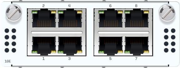 Sophos 8 Port GbE Kupfer FleXi Port-Modul (für alle XGS Rackmount-Modelle)