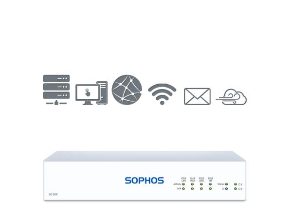 Sophos SG 105 TotalProtect Plus (SG105)