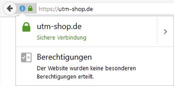 UTM SSL
