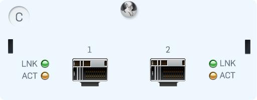 Sophos 2x 10 Gbit SFP+ Rev2 FleXi Portmodul SG/XG 5xx/6xx (Glasfaser)