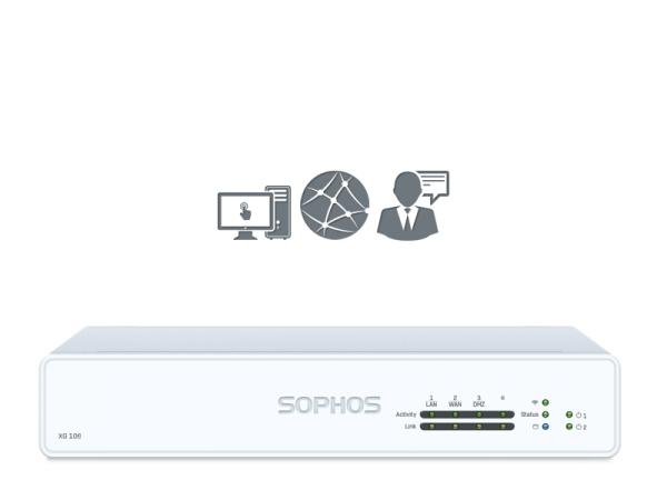 Sophos XG 106 EnterpriseProtect Rev. 1 (XG106)