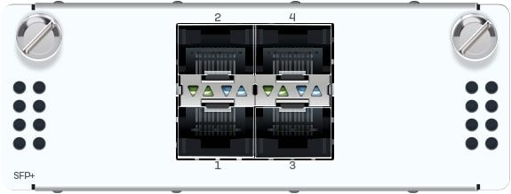 Sophos 2 Port 10GbE Glasfaser (LC) Bypass + 4 Port 10GbE SFP+ FleXi Port-Modul (für XGS 5500/6500)