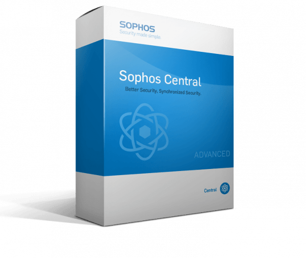 Sophos Central Endpoint Protection (Competitive Upgrade)
